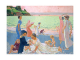 September Evening, 1911 Gicléetryck av Maurice Denis