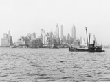 Steamboat in New York Harbor Photographic Print