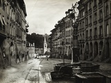 View of Fountain in Bern Photographic Print