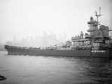 View of the Battleship USS Missouri Photographic Print