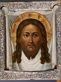 The Mandylion: the Face of the Saviour on a White Kerchief Photographic Print