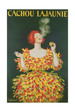 Poster Advertising Cachou Lajaunie Giclee Print by Leonetto Cappiello