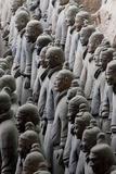 Terracotta Soldiers at Qin Shi Huangdi Tomb Lámina fotográfica