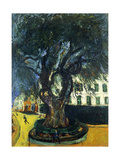 The Tree in Vence, L'Arbre de Vence, C. 1929 Reproduction procédé giclée par Chaim Soutine