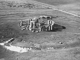 View of Stonehenge Ruins as Seen from the Air Photographic Print