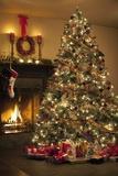 Albero di Natale Stampa fotografica