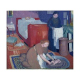 The First Bath, C. 1899 Reproduction procédé giclée par Maurice Denis