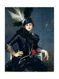 Gilda Darthy Reproduction procédé giclée par Jacques-emile Blanche
