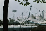 View of 1972 Olympic Stadia with Plastic Roof Photographic Print