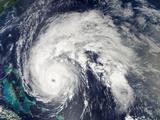 Hurricane Earl over the Bahamas Photographic Print