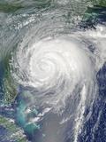 Hurricane Irene on August 26, 2011 Photographic Print