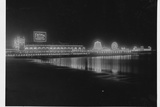Steeplechase Pier at Night Photographic Print