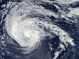 Tropical Storm Nadine (14L) Off the Azores Photographic Print