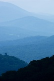 Skyline Drive, Shenandoah National Park, Virginia Fotografisk tryk