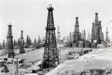 Oil Well Field Photographic Print