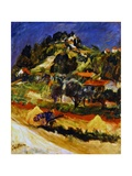 Landscape in Ceret, 1932 Giclee Print by Chaim Soutine