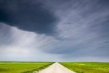 Storm Clouds, Saskatchewan, Canada Fotografisk tryk
