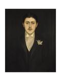 Portrait of Marcel Proust, 1892 Lámina giclée por Jacques-emile Blanche