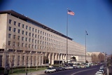 View of State Department Building Photographic Print