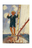 Dominique on the Isard, 1923 Giclee Print by Maurice Denis