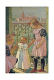 On a Venetian Balcony Giclee Print by Maurice Denis