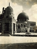 View of Mosque of Omar Photographic Print