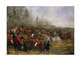 At the Finish Giclee Print by Henry Thomas Alken
