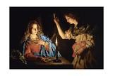Annunciation Giclee Print by Matthias Stom