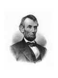 Official Portrait of Abraham Lincoln Impression giclée par M.W. Baldwin