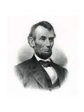 Official Portrait of Abraham Lincoln Giclee Print by M.W. Baldwin