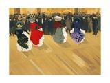 Les Danseuses Poster Giclee Print by Abel Truchet
