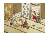 Print Depicting a Domestic Scene Giclee Print by  Minko