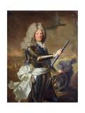 Louis De France by Hyacinthe Rigaud Giclee Print by Hyacinthe Rigaud
