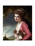 Lady Hamilton as Nature Giclee Print by George Romney
