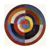 First Disc Giclee Print by Robert Delaunay