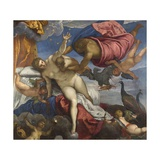The Origin of the Milky Way Giclee Print by  Tintoretto