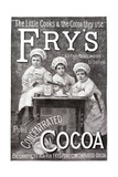 Advertisement for Fry's Cocoa Giclee Print