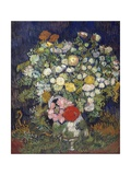 Bouquet of Flowers in a Vase Giclee Print by Vincent van Gogh