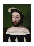 Portrait of King Francis I of France Giclee Print by Joos Van Cleve