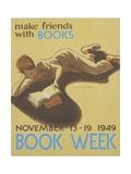 Book Week Poster Giclee Print by Elizabeth Tyler Wolcott