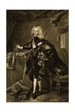 Portrait of Philip V, King of Spain Giclee Print by Hyacinthe Rigaud