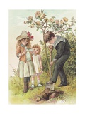 Illustration of Three Children Giclee Print by Alice Havers