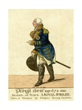 George III Print of His Fiftieth Year Jubilee Giclee Print by Robert Dighton