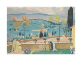 The Annunciation in Fiesole, 1928 Giclee Print by Maurice Denis