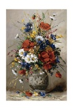 A Vase of Summer Flowers Giclee Print by Eugene Petit