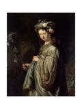 Flora Giclee Print by  Rembrandt van Rijn