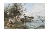 The Fishing Expedition Giclee Print by Johann Mari Henri Ten Kate