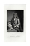 Engraving Print of Grinling Gibbons Giclee Print by Samuel Freeman