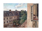 Vienna - View of the Alservorstadt Giclee Print by Rudolf von Alt