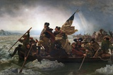 Washington Crossing the Delaware by Emanuel Leutze Giclée-Druck von Emanuel Leutze